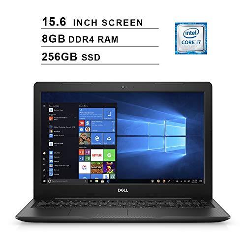 2020 Dell Premium Inspiron 15 3583 15.6 Inch FHD Laptop (Intel Core i7-8565U up to 4.6 GHz, 8GB RAM, 256GB SSD, Intel UHD Graphics 620, WiFi, Bluetooth, HDMI, Windows 10 Home)
