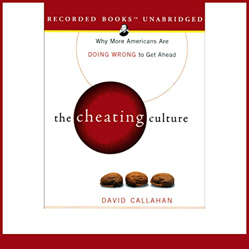The Cheating Culture audiobook cover art