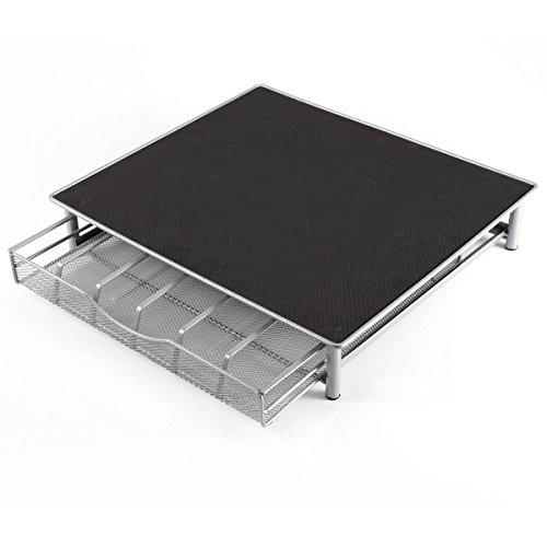 Soporte para Cafeteras y Cajón para Almacenar 36 Cápsulas de Café Dolce Gusto Pods, de acero resistente