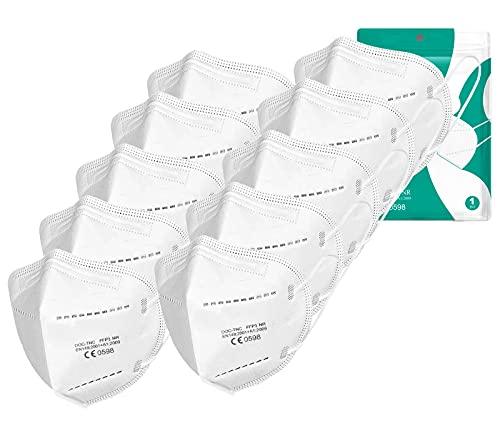 Uniguardian 15x FFP3 Masken-Einzeln versiegelte Maske-ohne Ventil-Filterklasse BFE ≥99% | PFE ≥99%-zertifiziert EN149:2001+A1:2009