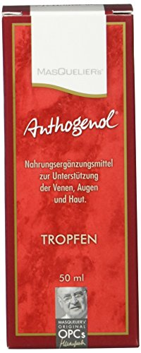 Masquelier's Original OPCs Anthogenol Tropfen 50 ml, 1er Pack
