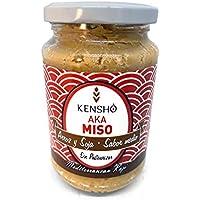 Kensho | Aka Miso| Ecológico | Sin Pasteurizar | Sin gluten | Probiótico | Miso Soup | Elaborado con Arroz Ecológico del Delta del Ebro