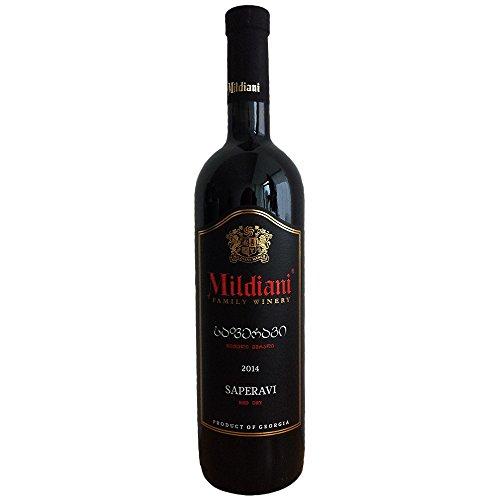 trockener Rotwein Saperavi 0,75L georgischer Wein trocken