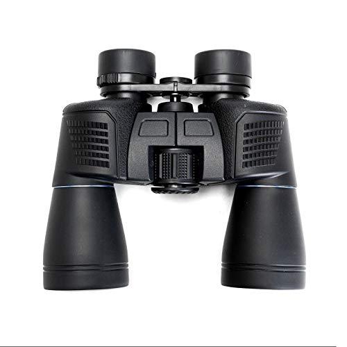 GAOXIAOMEI Binoculares 16X50 para Adultos HD Prismáticos Profesionales/Impermeables a Prueba de Niebla FMC BAK4 Lente de Prisma Visió de Aves Caza Viajes Deportes al Aire Libre