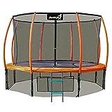 JUMPI Gartentrampolin Maxy Comfort Plus 252CM Kindertrampolin Spielzeug für draußen komplettes...