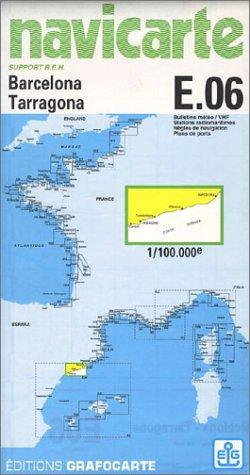 Carte marine : Barcelona - Tarragona