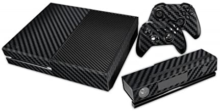Xbox One Skin - Black Carbon Fiber