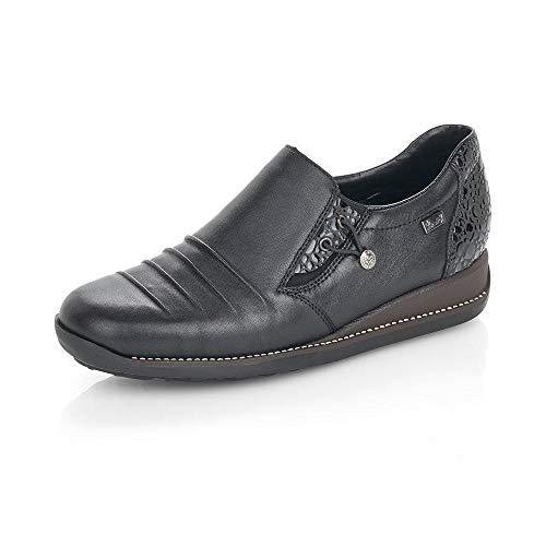 RIEKER - Womens Shoes - 38 EU - rieker 44254 - black 00 - 38 EU