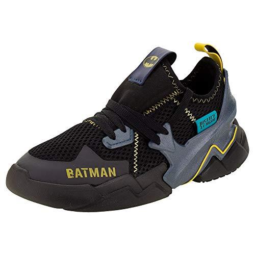 Tênis Infantil Masculino Liga da Justica Batman Grendene Ref. 22234