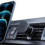 AUKEY Porta Cellulare da Auto Super Forte Magnetico Supporto Auto Smartphone Clip Aggiornata per Bocchette dell'Aria Compatibile per iPhone 12/11/X/8/7, Samsung S9/8/7, Xiaomi, Huawei and GPS