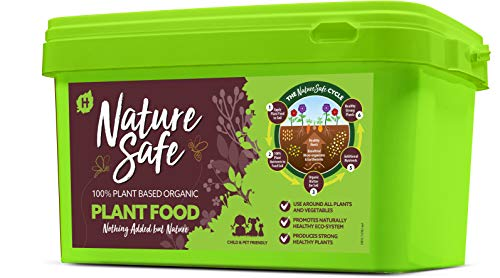 Nature Safe Plant Food 10kg 100% Organic Based Ingredients Rich In Amino Acids