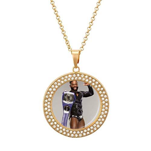 Ce-dric A-lexander Collar de diamantes multicolor - Collar con colgante de peso ligero, joyería de moda para niñas y niños