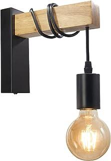 BYX Loft Style lampe moderne E27 appliques murales luminaire pour éclairage intérieur couloir lampe chevet veilleuse métal...