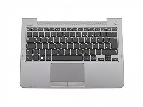 SAMSUNG NP535U3C Original Tastatur inkl. Topcase DE (deutsch) schwarz/Silber