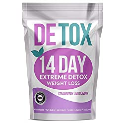 BEST AID FOR WEIGHT LOSS - The Extreme Detox is packed with metabolism boosting natural herbs to kickstart fat burning and help get that shape you want. FIRE UP AND ENERGISE - Naturally caffeinated for fat burning throughout the day and keeping energ...