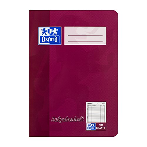Oxford 100057951 Aufgabenheft - A5, 48 Blatt, sortiert