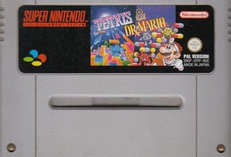 Tetris Dr Mario (Super Nintendo SNES)