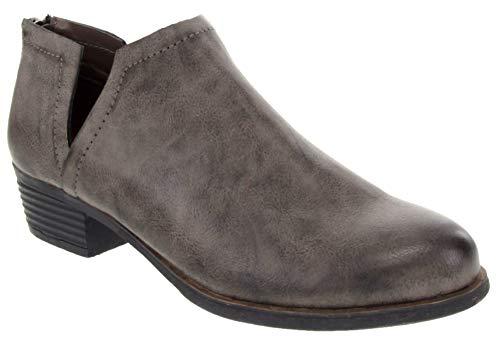 LONDON FOG Might Damen-Stiefelette, Grau (grau), 37.5 EU