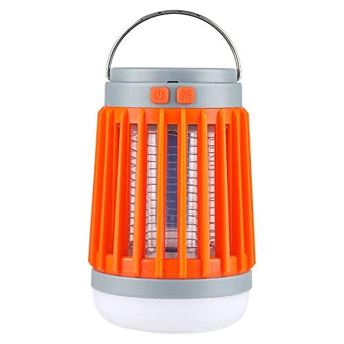 Night Cat linterna Eléctrica para Acampar con Batería Recargable USB de 2200 MAH y Linterna Portátil con Energía Solar Antorcha para Insectos para Tienda de Campaña