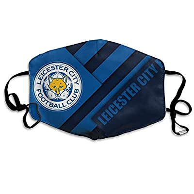 Leicester City Fc Mask Windproof Dustproof Masks Breathable Reusable Washed White
