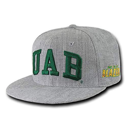 UAB University of Alabama at Birmingham NCAA Game Day Fitted Baseball Cap Hat - 7 Heather Grey