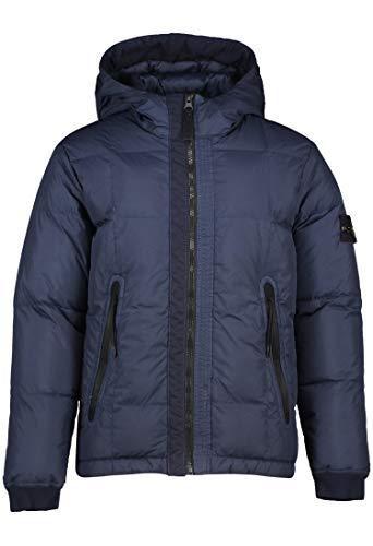 Stone Island Junior 711640133.V0020 - Chaqueta de plumón con capucha para niño, color azul turquesa 10 años