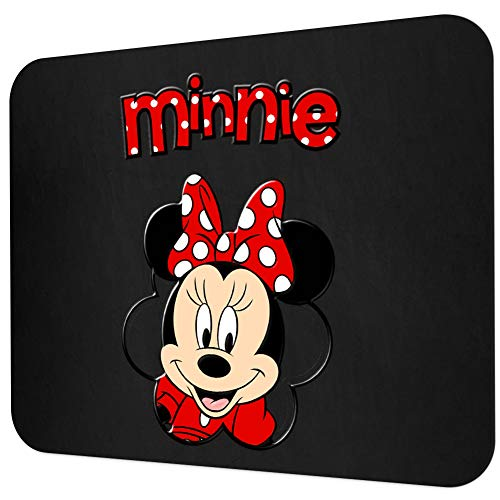 DISNEY COLLECTION Mouse Pad Minnie Rectangle Mouse Pads Non-Slip Rubber Gaming Mousepad for Computers Laptop MAC PC
