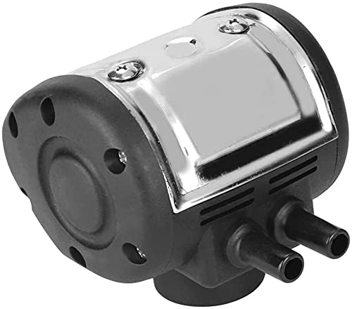SKYWPOJU Ordeñadora eléctrica Pulsador neumático, pulsador de ordeño de frecuencia de Pulso Ajustable de Acero Inoxidable, para máquina de ordeño de ovejas con Dos Salidas