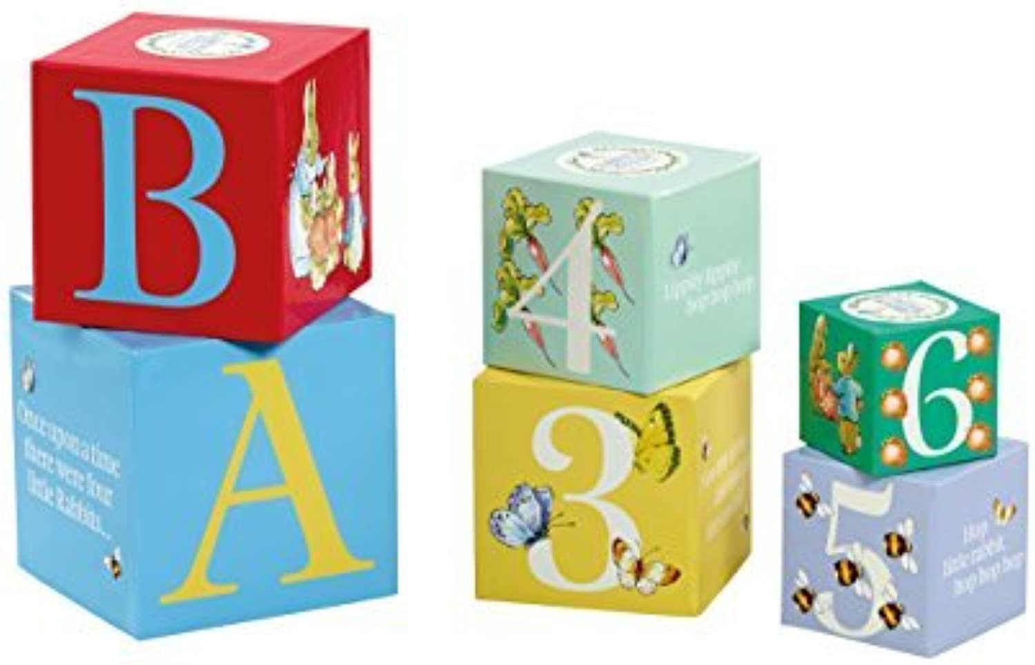 Beatrix Potter Stacking Blocks Baby Toy by Kids Preferred