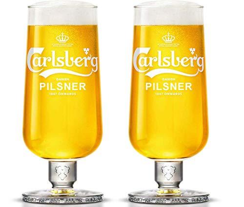 Carlsberg Pilsner Pint Kelchglas, gehärtet, CE-gekennzeichnet
