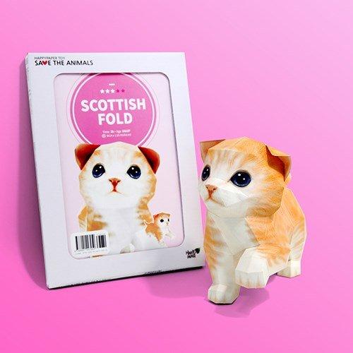 Papertoy - Scottish Fold