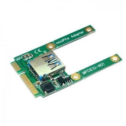 Mini PCI-E→USB2.0 変換アダプター