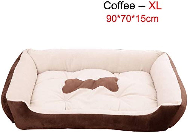 Pet Dog Puppy Soft Sleeping Bed Cat Nest House Little Pet Floor Mat Blanket