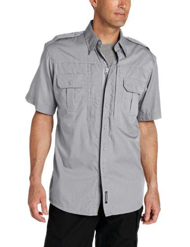Propper Men's Short Sleeve Tactical Shirt, Grey, X-Large Regular