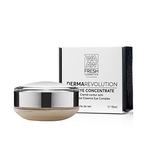 Wawa Fresh Cosmetics, Crema para el contorno de ojos, DermaRevolution the Eye Concentrate-Cellular Essence Eye Complex Cream, 100% cuidado de la piel natural, 15 ml