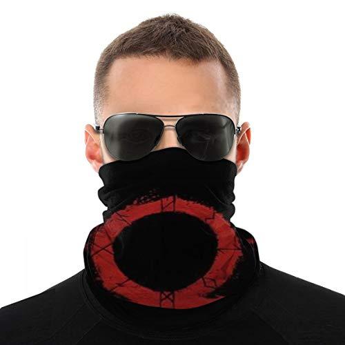 Bandanas Face Mask For Men Women Anti-Dust God Of War Logo Black Outdoors, Sports Festivals Neck Gaiter Breathable Bandana Balaclava