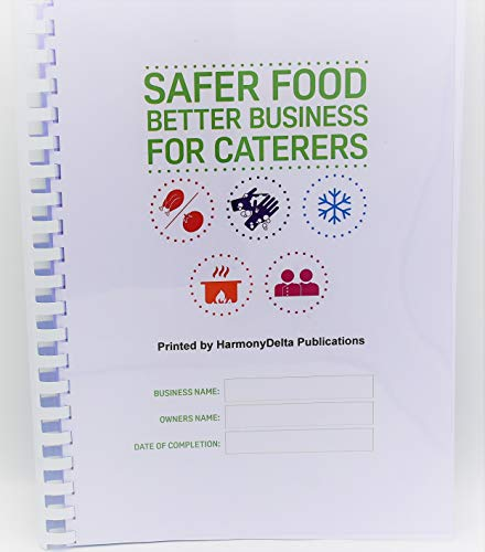 Safer Food Better Business for Caterers Restaurants Takeaways Fully Updated Pack November 2019 SFBB + 13 Month Diary