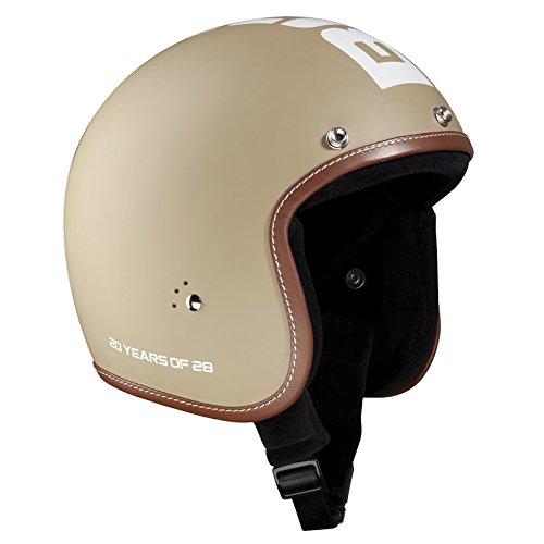 Bandit Helm Jet matt,Jethelm,kleine leichte Bauweise,bequem,Biker,neu, Größe:M(57-58cm), Farbe:20th Anniversary Desert