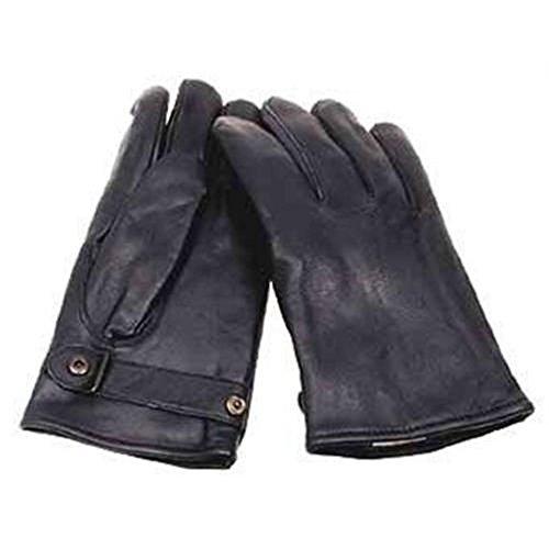 BW Lederhandschuhe Bundeswehr Fingerhandschuhe aus Leder Motorradhandschuhe Arbeitshandschuh S-XXL