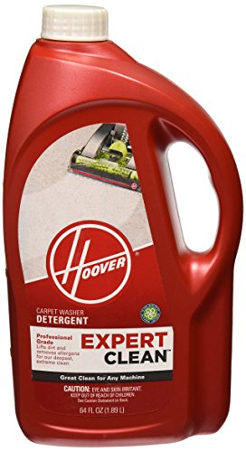 Hoover Expert Clean Carpet Washer Detergent Solution Formula, 64oz, AH15071