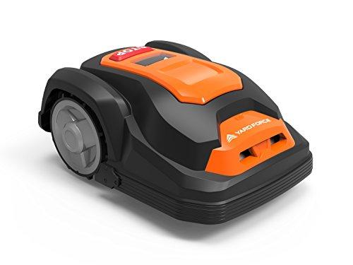 YardForce SA600H Mähroboter - Selbstfahrender Rasenmäher Roboter mit Begrenzungsdraht & Touch Display - Akku Rasenroboter für bis zu 600m² Rasen & 50% Steigung - 5