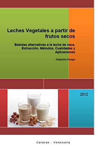 Leches Vegetales a partir de frutos secos: Bebidas alternativas a la leche de vaca. Extracción. Métodos. Cualidades y Aplicaciones