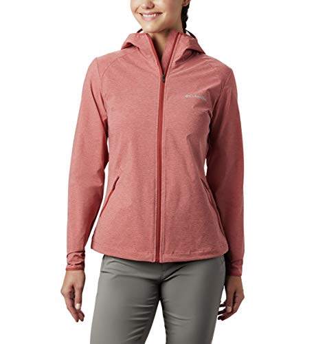 Columbia Damen Heather Canyon Softshelljacke, Dusty Crimson H, M
