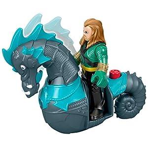 Mattel Imaginext Fisher-Price DC Super Friends Aquaman & Seahorse 7