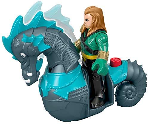 Mattel Imaginext Fisher-Price DC Super Friends Aquaman & Seahorse 1