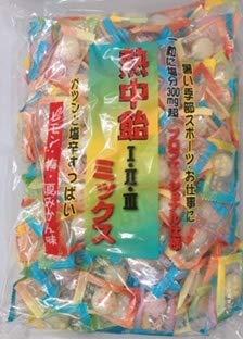 井関食品 熱中飴 1・2・3 ミックス 業務用 塩飴1kg x3袋