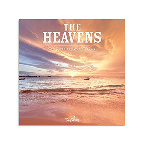 DaySpring The Heavens - 2020 Wall Calendar, J0054