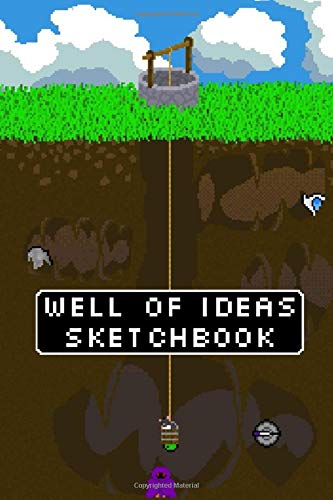 Well Of Ideas Sketchbook Dot Grid Notebook For Pixel Art Drawing Video Game Art Sketchbook 6x9inch 120 Pages