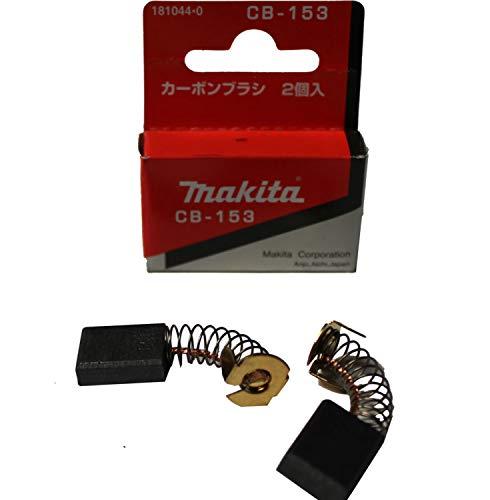 Makita 181044-0 - Escobillas para herramientas eléctricas de tipo 153 de Makita