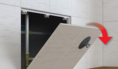 Revisionstür Revisionsklappe magnetisch befliesbar : 400 x 400mm